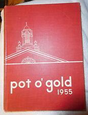 1955 vintage DeVilbiss High School Yearbook Annual Toledo Ohio OH - De Vilbiss