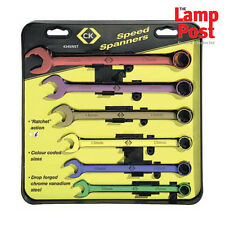 CK Tools Metric Speed Spanners Set Of 6 - T4345/6ST
