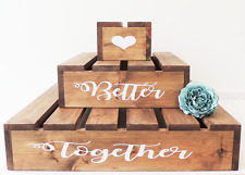 rustic wooden wedding cake stand uk rustic wooden wedding cake stand 19595