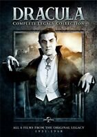 Dracula (1931): Complete Legacy Collection (4 Disc) DVD NEW