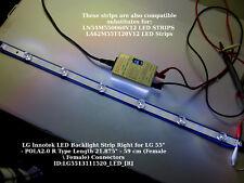 """LG Innotek LED Backlight Right Strip for LG 55"""" - POLA2.0 R Type Length 21.875"""""""