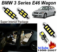 14pcs White Car LED Interior Map Light Kit For BMW 3 Series E46 1999-2006 Lamps