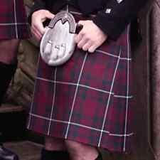Scottish | Hunting Macgregor Tartan Heavy Kilt & Kilt Pin | Geoffrey