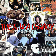 N.W.A. Legacy 1 1988-98 Various Artists Audio CD