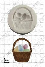 Silicone mould Easter Basket | Food Use FPC Sugarcraft FREE UK shipping!