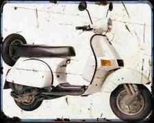 Bajaj Chetak 150 05 03 A4 Metal Sign Motorbike Vintage Aged