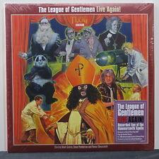 LEAGUE OF GENTLEMEN 'Live Again! - Pop Up' RSD Ltd. Edition COLOUR Vinyl 2LP NEW