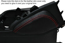 RED STITCH 1X LEATHER KNEE PADS SKIN COVERS FITS HONDA CIVIC SE SE-T EX 2012+