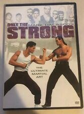 Only the Strong Mark Dacascos RARE Out Of Print OOP DVD Good Shape Martial Arts