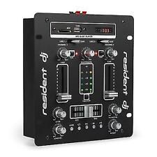 Resident DJ DJ-25 Bluetooth USB SD Mixer - Black
