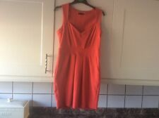 Ladies size 12 red knee length dress from miss selfridge