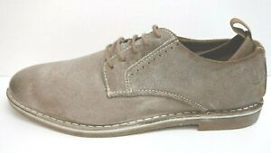Steve Madden Size 11 Distressed Taupe Oxfords New Mens Shoes