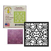 Arabian Magic Veil Frame Metal Die Cut Cheery Lynn Designs FRM129 Cutting Dies