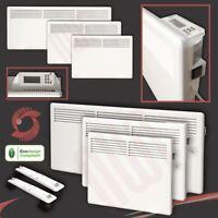 "Wall Mounted / Floor Standing ""NOVA LIVE S"" Eco Electric Slimline Panel Heaters"