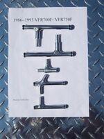 Honda  1986-1993 VFR700F VFR750F INTERCEPTOR FUEL AND VENT TUBES