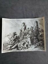 """1679 Original Folio Copper Engraving  """"Horatiorum et Curiatiorum Sepulchrum"""""""