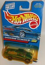 Hot Wheels 1999 Collector #1059 Dodge Ram 1500 Mtflk Green China 5DOTs 24073