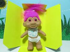 """1991 Baby - 5"""" Toys N' Things Troll Doll - New In Damaged Box"""