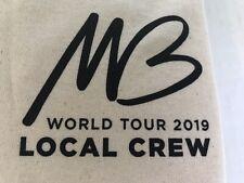 Michael Buble 2019 Concert Tour Local Crew T-shirt size 2Xl concert souvenir New