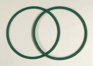 2 Green Air Dam Belts Fits Leister Uniroof AT/ST Brand New IHS 114.229 FREE SHIP