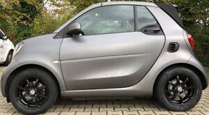 Winter Wheels Alloy Wheels Smart 453 DBV Bali. II Black Dunlop RDKS Factory New