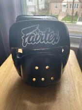 *New* Nwt Fairtex Muay Thai Boxing Head Guard Hg14 Full Face Head Gear