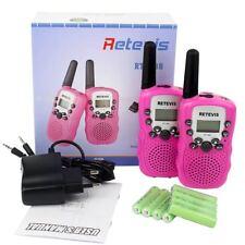 2pcs Retevis RT388 Walkie Talkie Kinder PMR446 mit wiederaufladbar Akku 8 Kanäle
