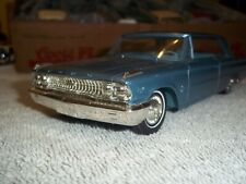 Dealer Promo Car  mint 1963 Galaxie 500 with 1 flaw passengers side wing vent