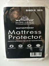 Waterproof Mattress Protector Fitted Sheet Cover Non-Allergenic Totally Hygienic