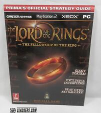 The Lord of the Rings FELLOWSHIP OF THE RING Prima Official NEW! GBA PS2 XBOX PC