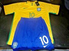 58d395ab390 PELE' HAND SIGNED NIKE BRAZIL SOCCER JERSEY+Shorts Brasil COA New w/Tags
