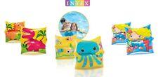 INTEX Mermaid, Sea Buddy, Dinosaur Arm Bands - 3 Sets of 2 Kids Floaties/Wings