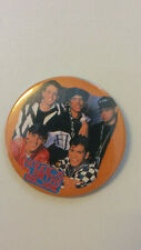 New Kids on the Block NKOTB Jordan Donny music buttons vintage LARGE BUTTON 2
