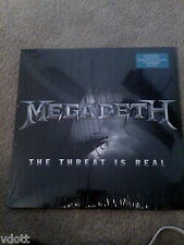 "MEGADETH THE THREAT IS REAL 12"" SINGLE EP LP COLORED VINYL SEALED RSD"