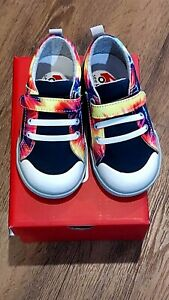 """New See Kai Run """"Tanner"""" Navy/tie Dye canvas sneakers, toddler 6,NWT"""