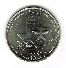 2004-D Brilliant Uncirculated Texas 28TH State Quarter Coin!