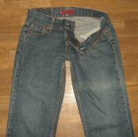 "hüftige LEVIS 557 EVE Damen- Square- Cut straight Jeans blau in ca. W27""/ L31"""