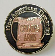 CHARTER ARMS Fine American Firearms tack pin lapel pinback button AMMUNITION ^