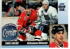 1993-94 Score Dream Team #3 of 24 Chris Chelios