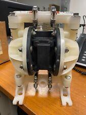 Aro Ingersoll Rand 12 Non Metallic Double Diaphragm Pump 100 Psi 666057 444