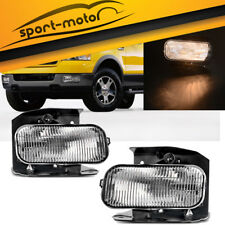 for 99-03 Ford F150 Pickup / 99-02 Expedition Clear Fog Light Front Bumper Lamps
