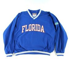 VTG University of Florida Gators Men's L Windbreaker Reversible Blue Pullover