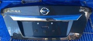 2013-2015 NISSAN ALTIMA TRUNK LID DECK TAIL GATE TAILGATE HATCH BLUE #NB1-TRS160