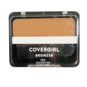 1x Covergirl Cheekers Bronzer Sealed #104 Golden Tan, 0.12 oz Each