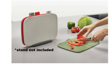 WITH DEFECTS< Joseph Joseph Duo 4 x Piece Chopping Boards NO STAND kitchen food
