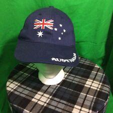 Korbond - Australian Flag Embroidered Baseball Style Hat Cap - Adjustable strap