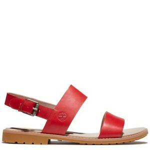 Timberland Women's Chicago Riverside red sandals A24R6 ALL SIZES