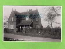 The Post Office Bushley Nr Malvern unused RP pc Atkins Tewkesbury  Ref B685