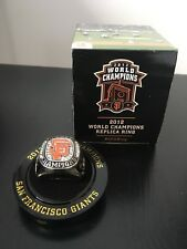 BNIB NIB San Francisco SF Giants 2012 World Series Champions Replica Ring SGA WS