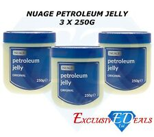 NUAGE Petroleum Original Jelly For Body & Dry Skin Cuts Burns Vaseline 3 x 250g